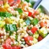 Grilled Vegetarian Cous Cous